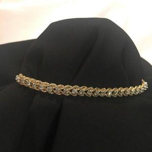 Jewelry - 14k yellow gold diamond bracelet